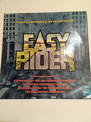 Easy Rider, Various tunes- Case Only, No LP,1969, Rock, Stage and Screen,LP
