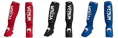 VENUM KONTACT MMA SHIN INSTEP GUARDS  - Available in Black, Blue and Red.