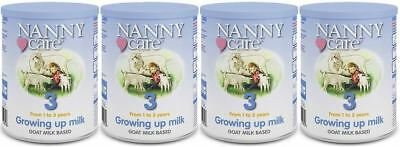 NANNYCare Stage 3 Growing Up Milk - 400g (Pack of 4)