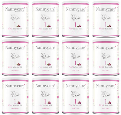 NANNYCare Stage 1 First Infant Milk - 400g (Pack of 12)