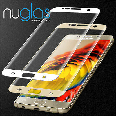 Genuine Nuglas Full TEMPERED GLASS for Samsung galaxy S7 screen protector