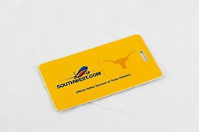 Southwest Airlines University of Texas Longhorns luggage tag