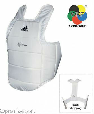 Adidas Karate WKF Approved Body Protector Shield Martial arts