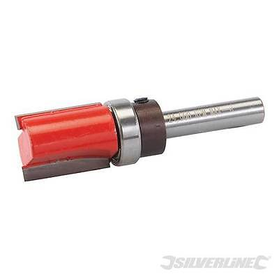"""Silverline TCT 8mm Template Cutter 5/8"""" x 1"""" x 5/8"""" - Routing - 257049"""