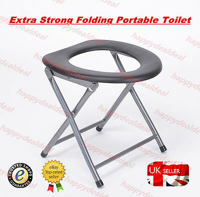 New Portable Folding Toilet Travel Camping Festival Park Fishing Outdoors