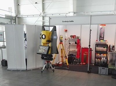Total station model exhibition trade shows, Leica, South, Ausstellung Messen
