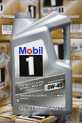 2 X Mobil 1 Engine Oil 0W40 (5QT Bottle) 4.73L
