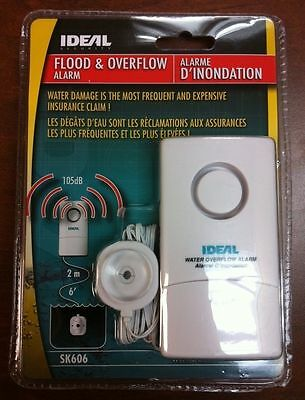 Ideal Security SK606 WATER DETECTOR & OVERFLOW ALARM home security safety sinks