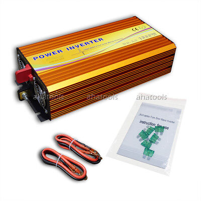 1500 Watt 1.5KW Pure Sine Wave Off-Grid Inverter Charger Converter for RV Home