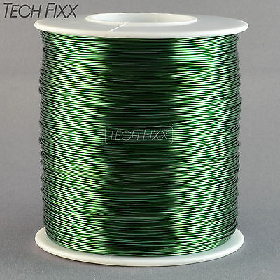 Magnet Wire 26 Gauge AWG Enameled Copper 1260 Feet Coil Winding 1Lb 155C Green