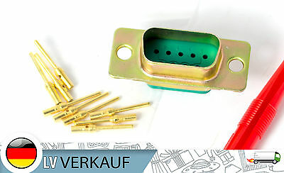 Souriau 8630-09p highend non-magnetic D-Sub DB9 9-Pin 10-19 connector crimp