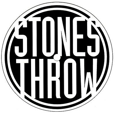 STONES THROW RECORDS 2016 Ltd Ed RARE NEW Sticker +FREE Hip Hop Rap Stickers!