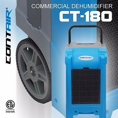 Contair® CT-180 XL Commercial Grade Dehumidifier Humidity Control ETL Certified