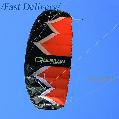 Large 3 Sqm 4 Line Parachute Power Kite For Kiteboarding Buggying Outdoor Sports