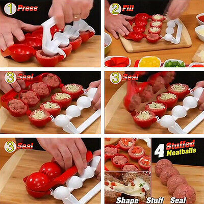 Useful Mighty Meatball Newbie Meatballs Fish Food Pellets Maker Kitchen CookTool