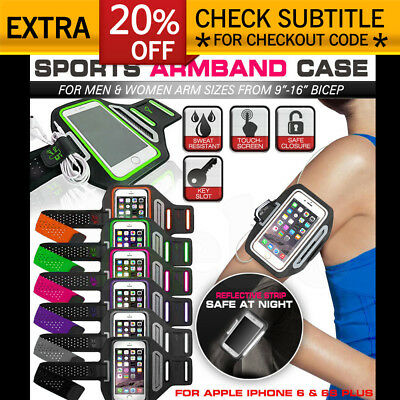 Sports Gym Running Slim Armband for Apple iPhone 6 & 6S Plus Arm Band Case