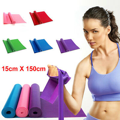 GYM Exercise Pilates Yoga Dyna Workout Physio Aerobics Stretch Resistance Bands