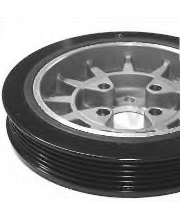 Vw Caddy Polo Lupo Seat Felicia 1.7/9 D/sdi Vibration Damper Pulley 028105243Ac