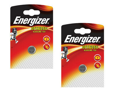 2 x ENERGIZER LR9 EPX625G BATTERY 1.5V ALKALINE COIN ULTRA PHOTO PX625A 625A