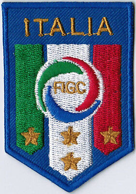 Italy National Football Team FIFA Soccer Badge Patch