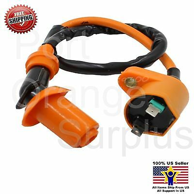 High Performance Ignition Coil GY6 50CC 139QMB 139QMA 125CC Scooter Parts