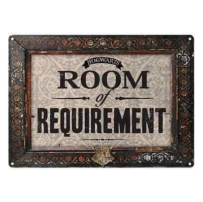 Harry Potter Tin Sign Room of Requirement Same Day Dispatch