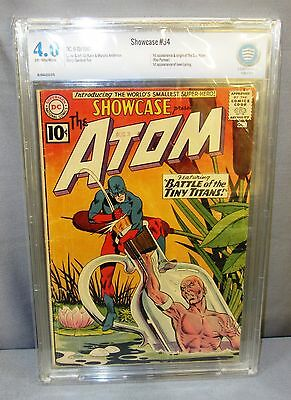 SHOWCASE #34 (Atom 1st appearance, Silver Age) CBCS 4.0 VG DC Comics 1961 cgc
