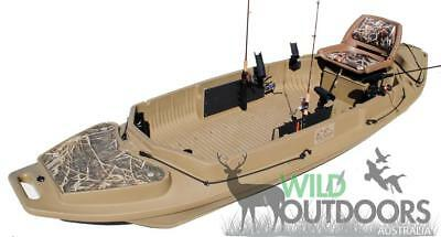 "Beavertail - Stealth 2000 ""ANGLER"" Boat - Fishing & Hunting Kayak - Duck Punt"