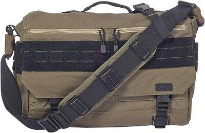 "5.11 Tactical Rush Delivery Lima OD Green 11""H x 17""L x 4""D. Offers expanded cap"
