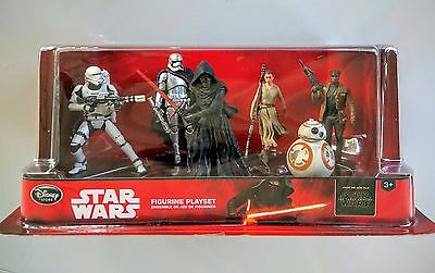 Disney Store Star Wars The Force Awakens Figurine Play Set