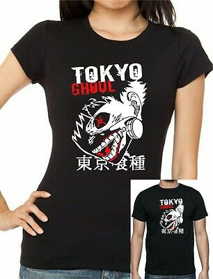 TOKYO GHOUL Inspired Kaneki Ken Anime Manga T-Shirt  sizes up to 5xl
