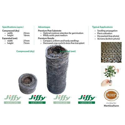 25mm XL Forestry Jiffy® Peat Pellets. Ideal for plant seed & cutting propagation