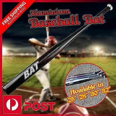 1 x Aluminium Baseball Bat Racket Softball Outdoor Sports Aluminum NSW Stock