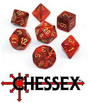 Chessex Dice Sets - Roleplaying dice sets - Mixed listing - New