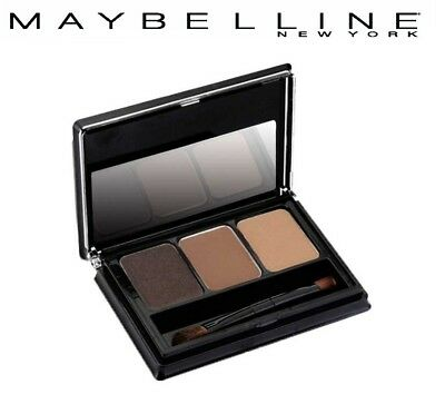 MAYBELLINE FASHION BROW 3D PALETTE 3g (BR-1 , BR-2 , GR-1)