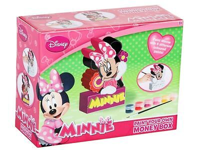 Minnie Paint your own Money Box by Disney
