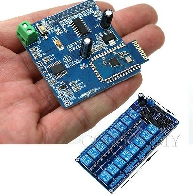 16CH Bluetooth Relay Android Mobile Remote control Switch f Arduino Motor light