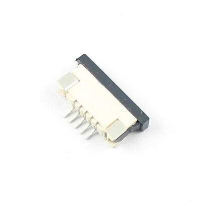 50Pcs FPC FFC 1mm 1.0mm Pitch 5 Pin Drawer Flat Cable Connector Bottom Contact