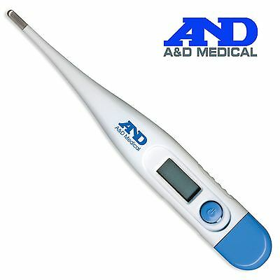 A&D Medical Oral Underarm Rectal Lightweight Fast Digital Baby Thermometer UT103