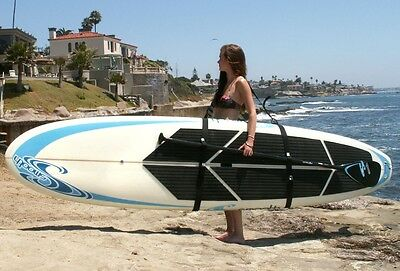 Big Board Schlepper SUP Stand Up Paddle Board Surfboard Carrier Shoulder Strap