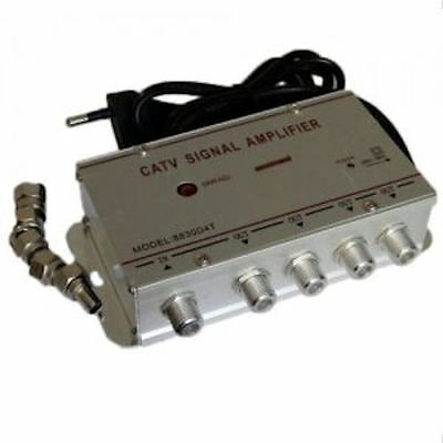 Amplificateur De Signal De Tv-4 Sorties-Tv Signal Antenne-Tv-Amplifier.tdt