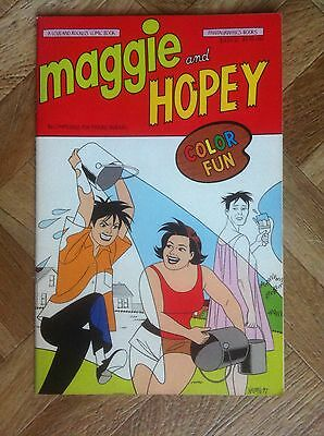 Maggie And Hopey Color Special #1 Fantagraphics First Printing Vf/nm (F53)