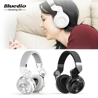 Bluedio Turbine 2 Bluetooth 4.1 Stereo Headsets Wireless Headphone, Built-in Mic