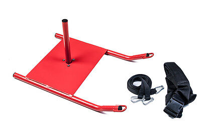 Power Resistance Field Strength Agility Training Fitness Speed Sled With Harness