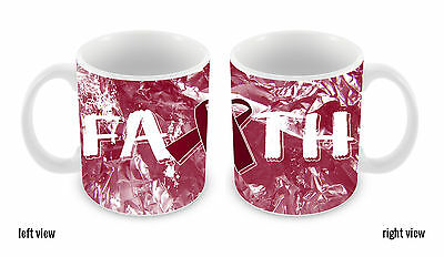 Multiple Myeloma Cancer Awareness Faith Ribbon 11oz Ceramic Coffee Mug