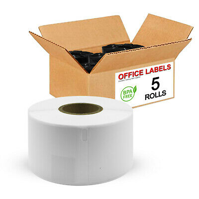"5 Rolls of 30321 Compatible Large Address Labels for DYMO® 1-4/10"" x 3-1/2"""