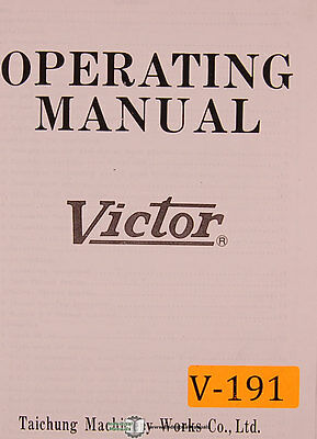 "Harrison V460 V550 Lathe Operations Manual /& Parts List 18//21/""Swing Center PDF"