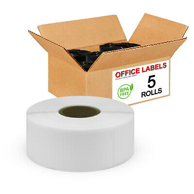 5 Rolls of 30336 Compatible Multipurpose Labels for DYMO® 1'' x 2-1/8''