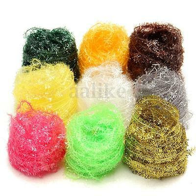 10 Meters 9 Color Ice Cactus Chenille Fly Tying Materials Tinsel Lure Attractant