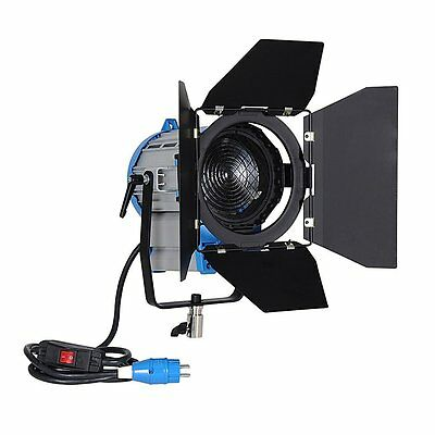 NiceFoto SP-1000 1000W 3200K Studio Fresnel Tungsten Light Spotlight with Dimmer